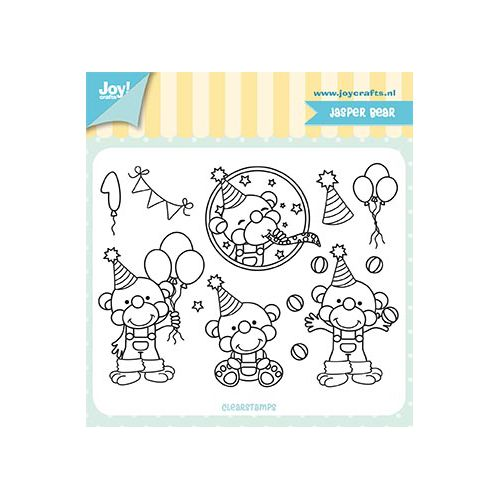 Clear Stamp - Jocelijne - Jasper Bear