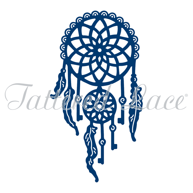 Tattered Lace Die - Delicate Dream Catcher