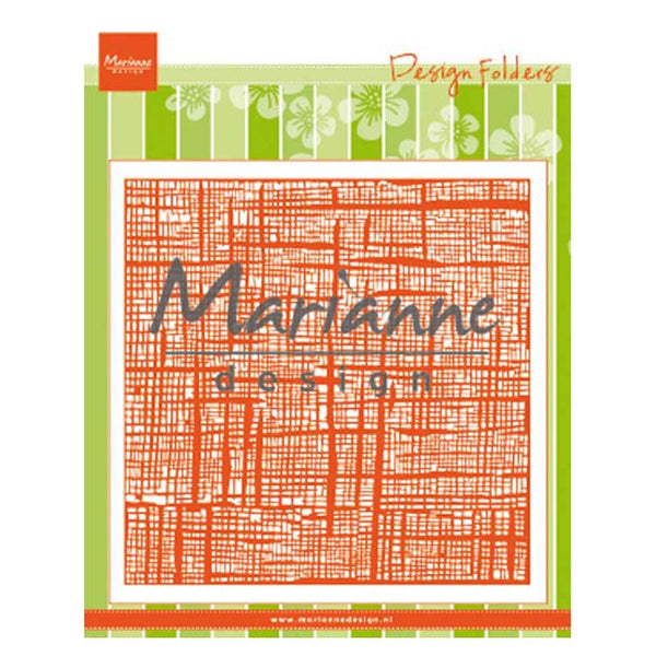 Marianne Design Embossing Folder Linnen