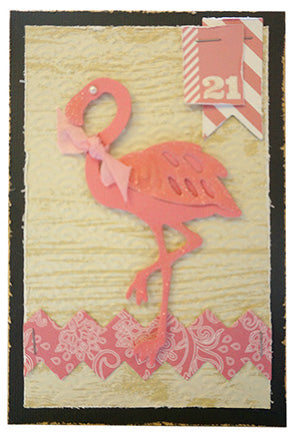 Couture Creations Die  - Flamingo