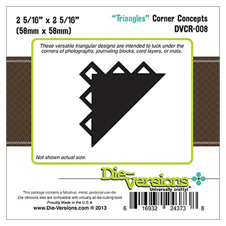 Corner Concepts Dies - Triangles