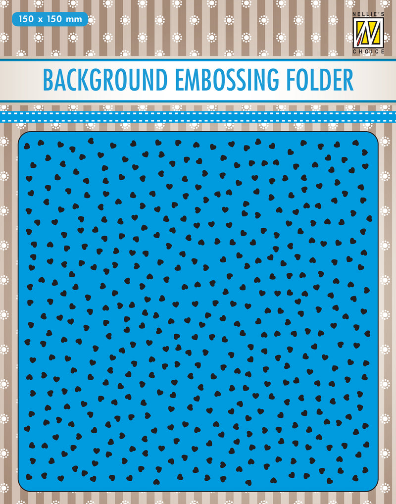 Nellie's Choice Background Embossing Folder 2