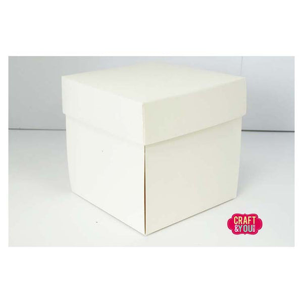 Craft & You Design Exploding Box Set 5 Pcs - Cream