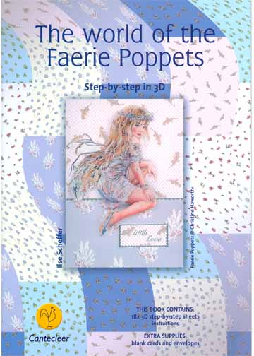 the world of faerie poppet print book(18 pages)