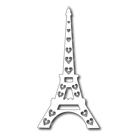 Cutting Die - Mix and Match die Eiffel Tower