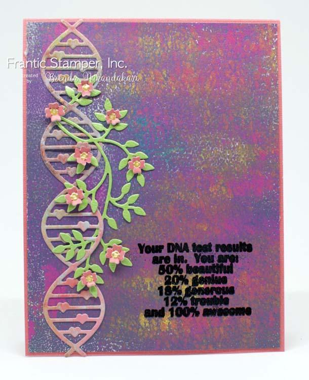 Frantic Stamper Clear Stamp Set - Our DNA