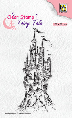 Clear Stamp Fairy Tale - 15 Elves Castle