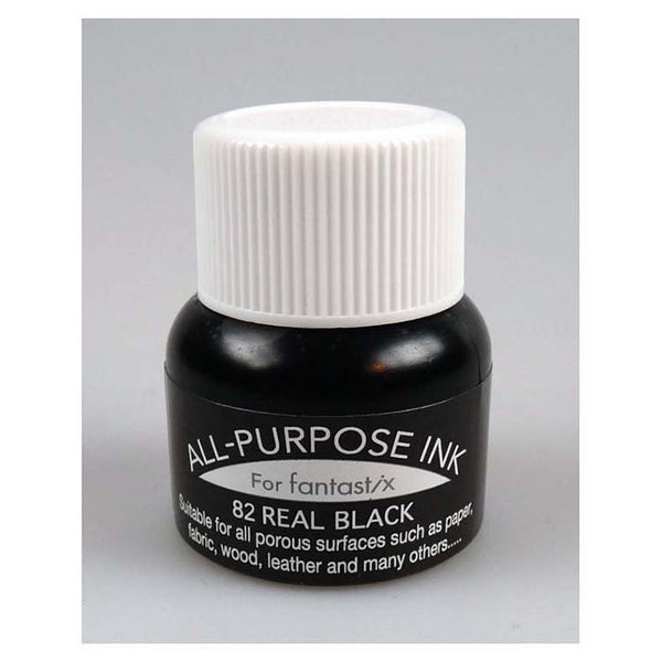 Tsukineko All Purpose Ink Real Black