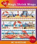 Hearty Crafts Magic Shrink Wraps Maritime (10cm)