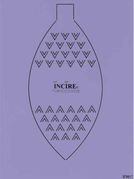 Incire Template - Oval