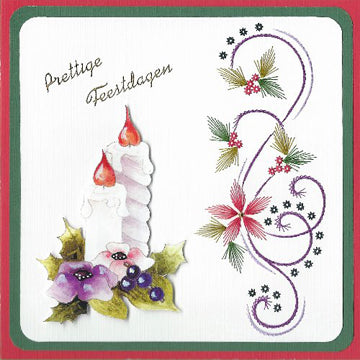 KC Embroidery Pattern - Side Holly Flourish