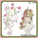 KC Embroidery Pattern - Swirls