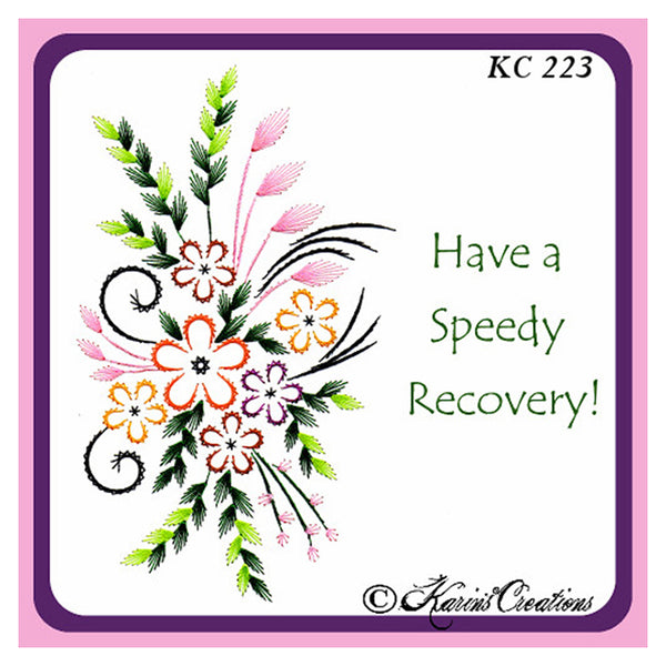 KC Embroidery Pattern - Wildfower Bouquet