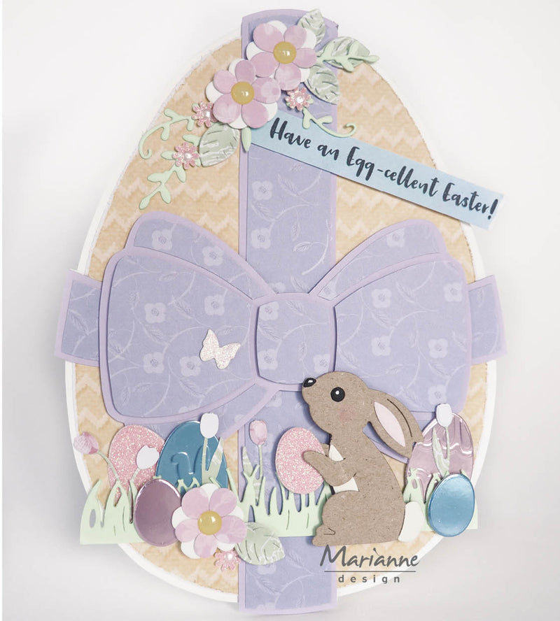 Marleen's Hello Spring & Easter Clear Stamps