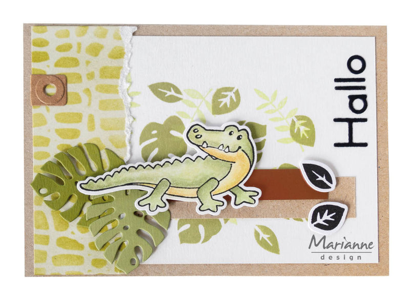 Craft Stencil Reptile