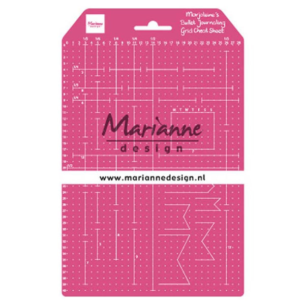 Marianne Design Marjoleine's Grid Cheat Sheet