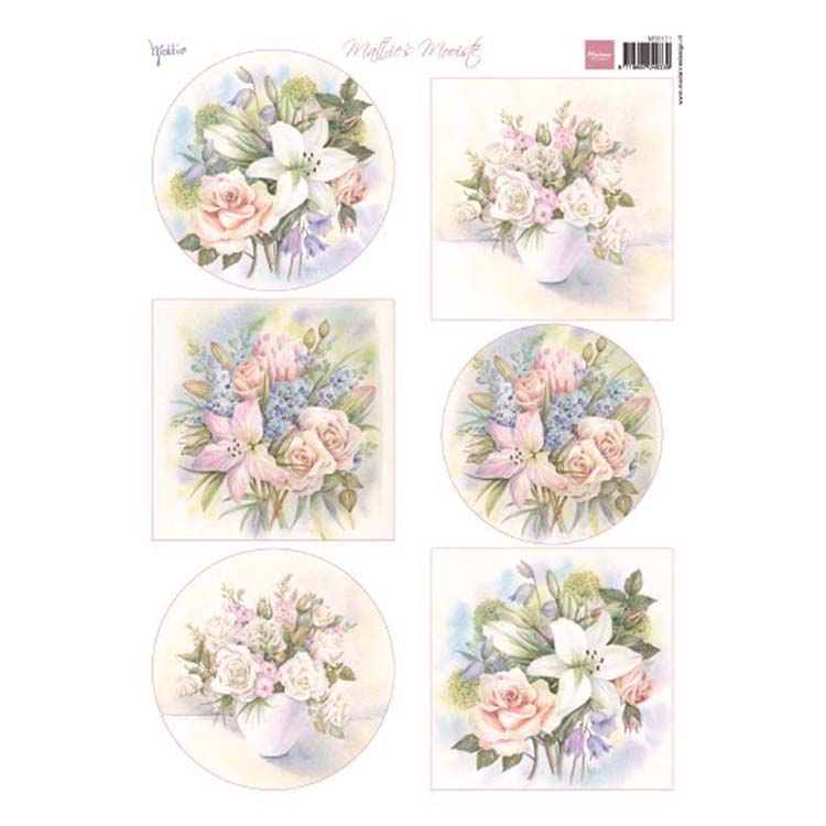 Marianne Design Cutting Sheet Lillies