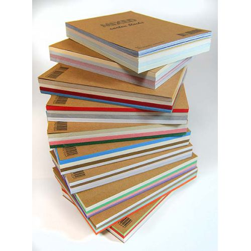 Mixed Cardstock Blocks A6 - 60 sheets