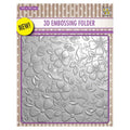 Nellie's Choice 6 x 6 3D Embossing Folder Flowers 3
