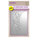 Nellie's Choice 4 x 6  3D Embossing Folder Arums