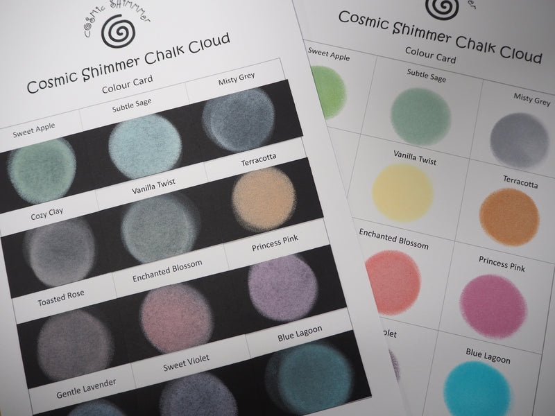 Cosmic Shimmer Chalk Cloud Blending Ink