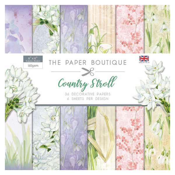 The Paper Boutique Country Stroll 6x6 Paper Pad