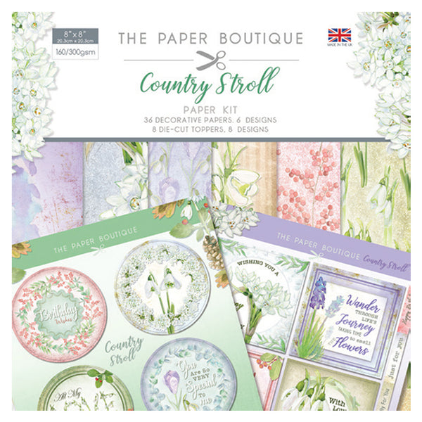 The Paper Boutique Country Stroll Paper Kit