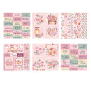 The Paper Boutique Grandma's Garden 8x8 Embellishments Pad