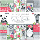 The Paper Boutique Rainbow Buddies 8x8 Embellishments Pad
