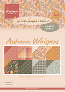 A4 Pretty Paper Bloc Eline's Autumn Whispers