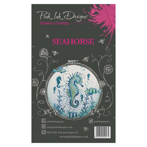 Pink Ink Designs A6 Clear Stamp Set Seahorse