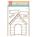 Marianne Design Craft Stencil: Doghouse By Marleen