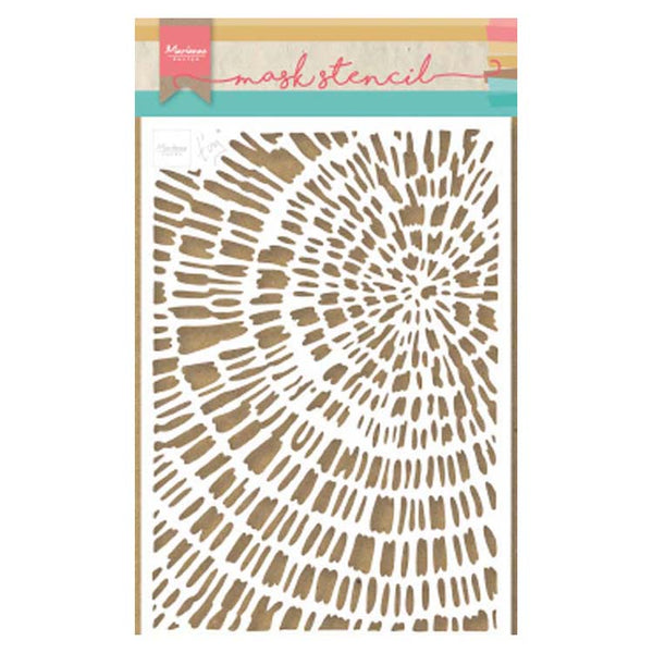 Marianne Design Craft Stencil Tiny's Sliced Wood