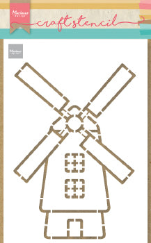 Windmill Craft Stencil