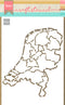 Netherlands Craft Stencil