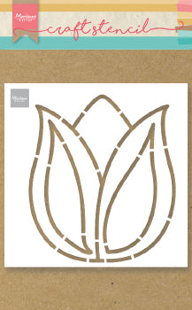 Tulip Craft Stencil