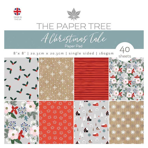 The Paper Tree A Christmas Tale 8x8 Paper Pad