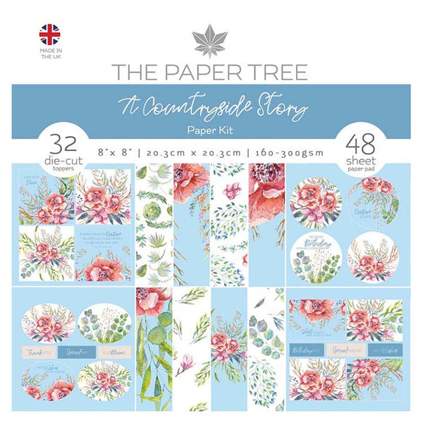 The Paper Tree A Countryside Story Paper Kit