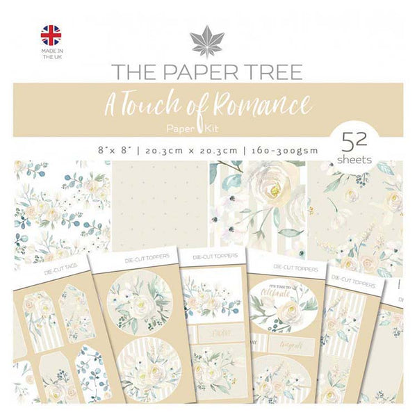 The Paper Tree A Touch of Romance Paper Kit inc Tags