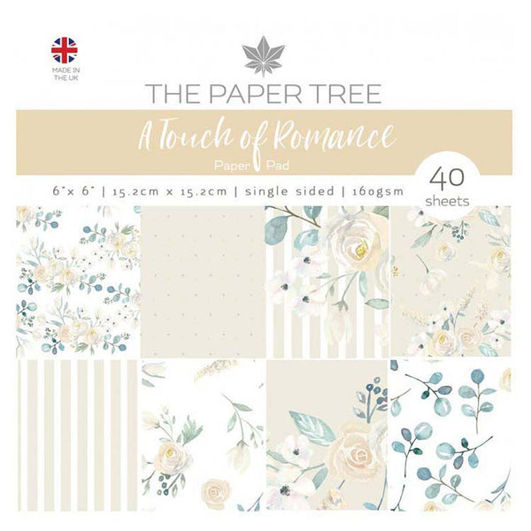 The Paper Tree A Touch of Romance 6x6 Paper Pad