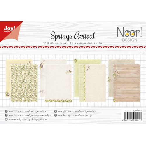 Joy! Crafts A4 Papers - Noor Spring's Arrival