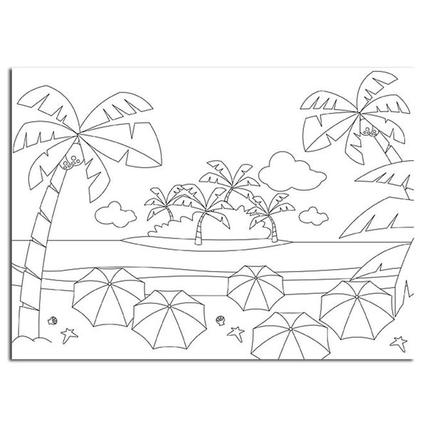 Picture Embossing Folder - Summer Holidays