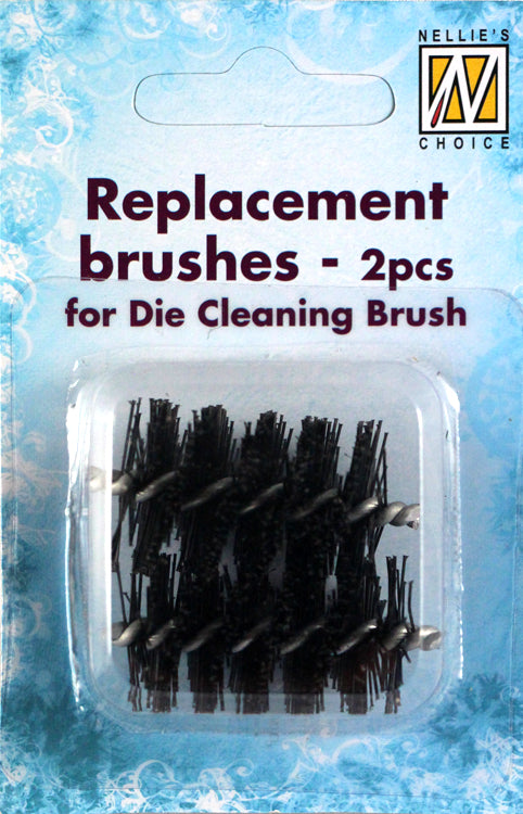 Replacement Brushes for Die Cleaning Brush