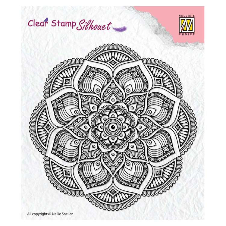 Nellie's Choice - Clear Stamp Mandala