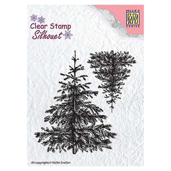 Nellie's Choice - Clear Stamp Christmas Fir Tree
