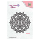 Nellie's Choice Clear Stamps Silhouette Mandala