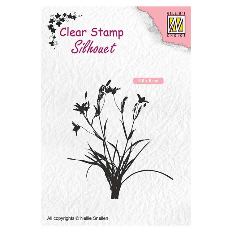Nellie's Choice Clear Stamps Silhouette Herbs 3