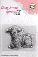 Nellie's Choice - Clear Stamp Spring - Lamb