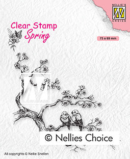 Clear Stamp Spring Spring Lovers