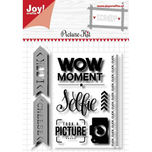 Scrap Stencil & Stamps - Picture Kit